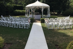 Gazebo White carpet