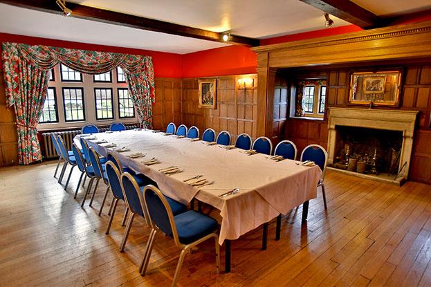 the oak panel room